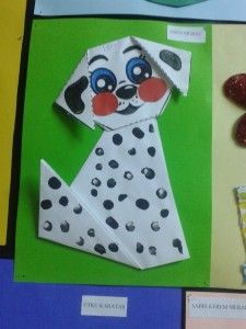 Dalmatian dog craft idea