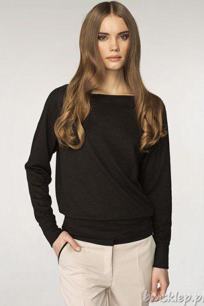Modny sweterek damski to świetna propozycja dla kobiet ceniących sobie modę i wygodę! - delikatna #tkanina bardzo przyjemna w dotyku - długi #rekaw - luźny, prosty krój - #dekolt w łódkę Skład: 85% #poliester, 10% #wiskoza, 5% spandex.... #Swetry - http://bmsklep.pl/swetry