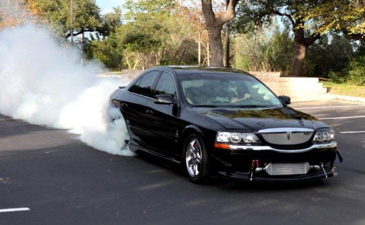 Supercharged Lincoln LS built by the infamous quikLS.