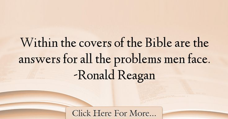 Ronald Reagan Quotes About Men - 45308