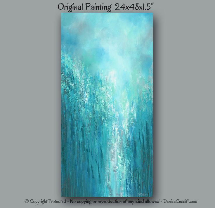 Wall art Extra large, Abstract painting, Canvas art, Oversized original, Teal home decor, Grey turquoise, Office, Bedroom Entryway Stairwell by ArtFromDenise on Etsy https://www.etsy.com/listing/204728926/wall-art-extra-large-abstract-painting