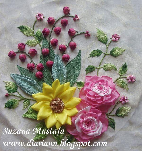 geweldige FREE TUTORIAL site in het maleis heel veel bloemen enz