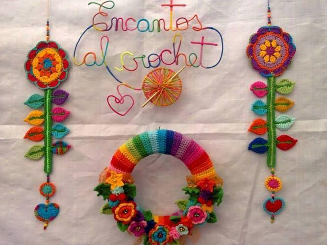 Objetos tejidos al Crochet https://www.facebook.com/encantosalcrochet