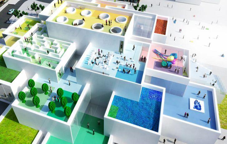La première brique de la future Maison #LEGO