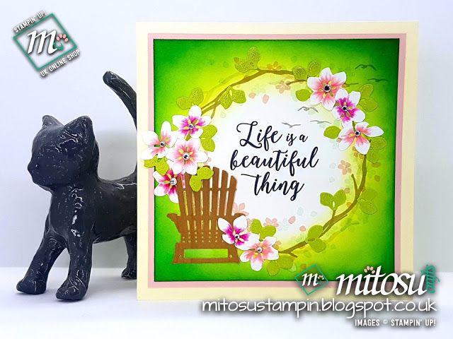Creative Circle Blog Hop ~ Spring Fling using colourful seasons stamp set from Stampin' Up!