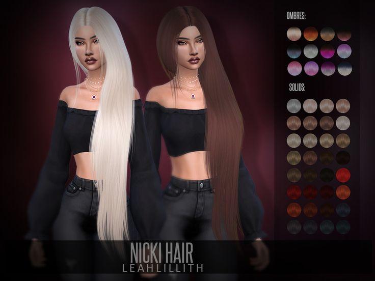 LeahLillith Nicki Hair