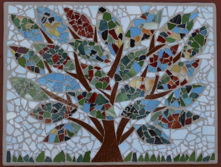"19""x24"" Auction project by University Unitarian Church camp 2012 #auctionprojects #seattlemosaicarts #mosaics"