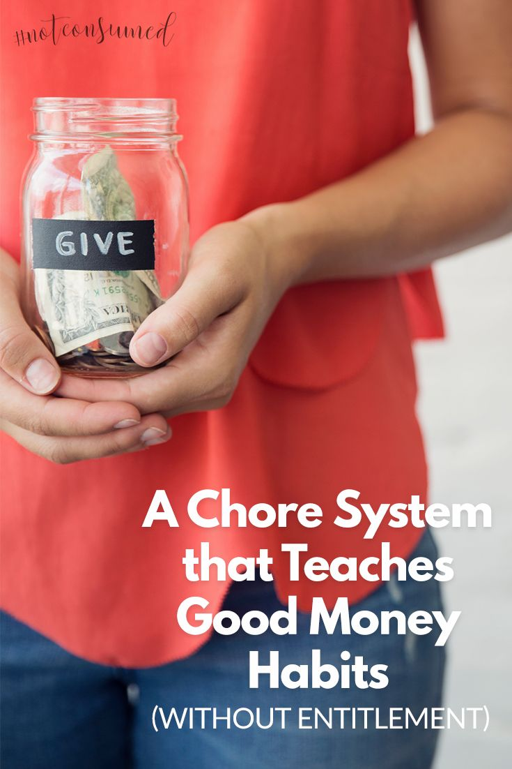 If you don't pay your child for chores, how do you teach good money habits to kids? This post answers that question and offers free printable chore charts.