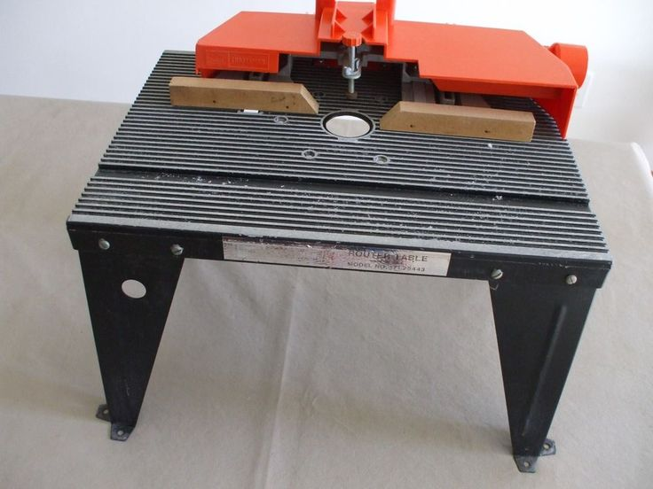 SEARS CRAFTSMAN ROUTER TABLE USED | Home & Garden, Tools, Power Tools | eBay!