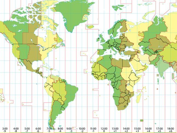 National Geographic - Understanding Time Zones