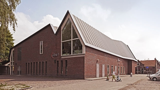 CULTURA theatre and cultural center Nootdorp by Room for architecture