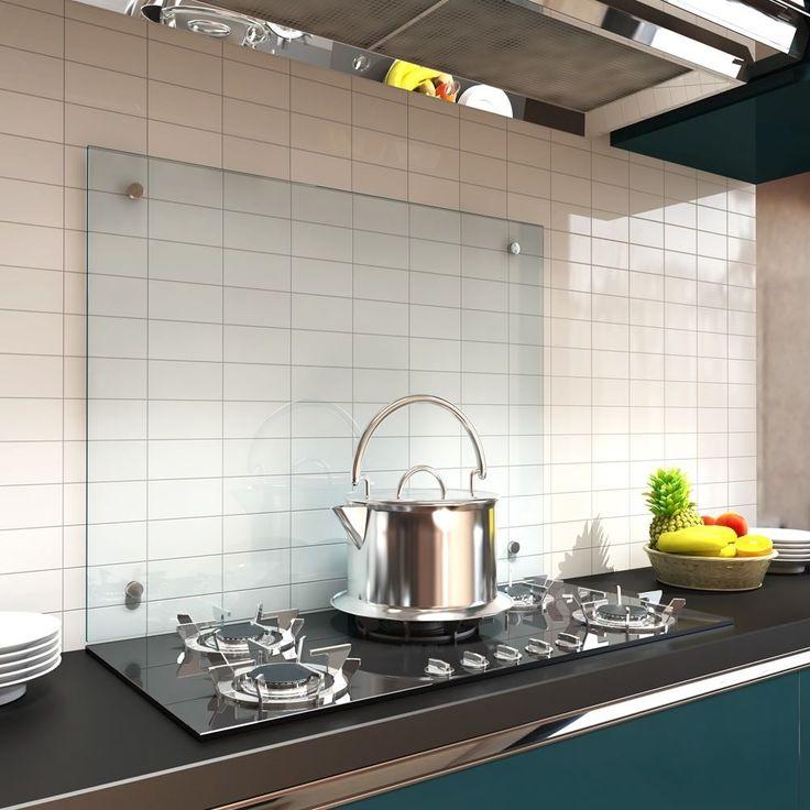 Las 25+ mejores ideas sobre Glasplatte küche en Pinterest - wandverkleidung küche glas