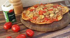 Size Zero Low Carb Blumenkohl-Pizza     Hallo zusammen!   Nach einigem Herumprobieren und Austüfteln habe ich endlich eine annehmbare Rez...