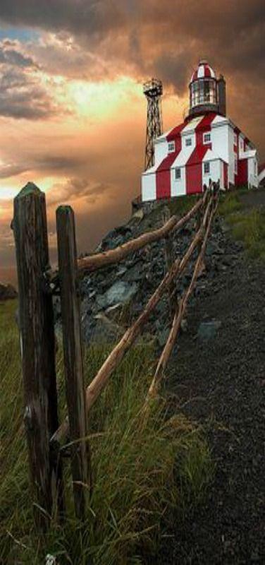 Faro de Cabo Bonavista - Terranova,-Canada
