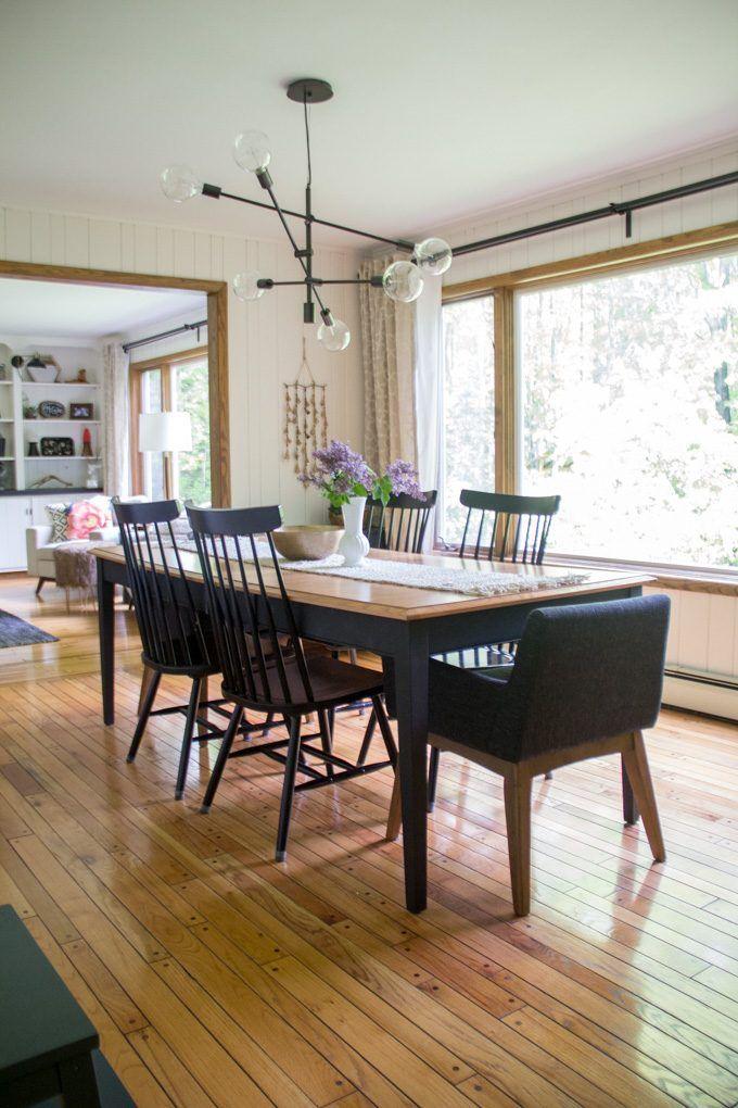 Modern Summer Home Tour  Modern Dining RoomsGrand  410 best Dining Room  Vintage Modern images on Pinterest   Dining  . Modern Home Dining Rooms. Home Design Ideas