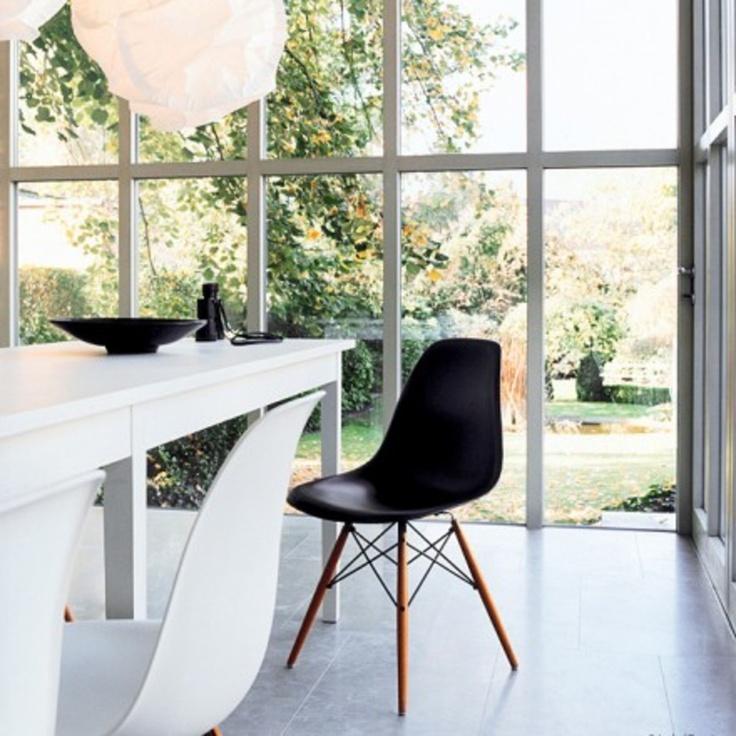 Abbildung Vitra - Eames Plastic Side Chair DSW
