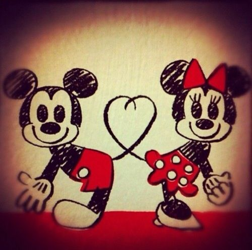Mini  et Mickey <3