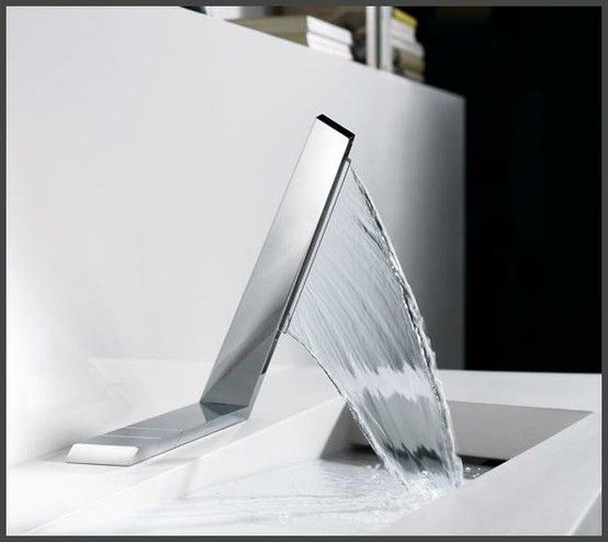 modern-bathroom-faucet2 32 Creative Sink Faucets In Contemporary And Modern Designs