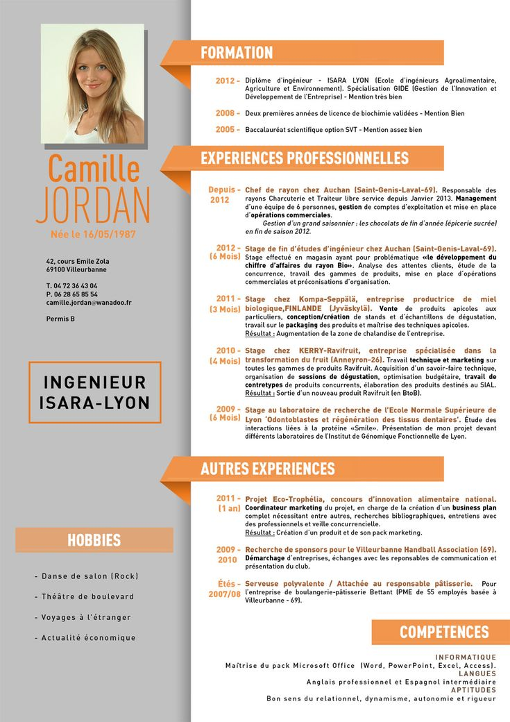 Super 20 best CV images on Pinterest | Resume cv, Cv design and Cv template IO87
