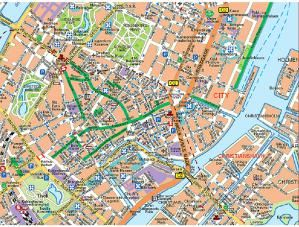 Free Things in Copenhagen: A Free Copenhagen Street Map