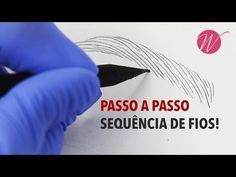 Sequência de FIOS REALISTAS passo a passo! - Microblading e Micropigmentação | #SérieFioaFio - YouTube