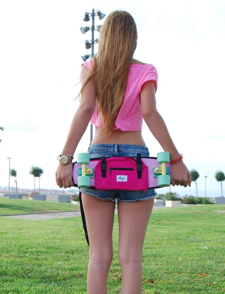"Shoulder Bag and funny bag for 22"" plastic skateboard. Available at monarksupply.com  One kiss @berta_peiro #monarksupply #skate #skater #skateboard #pennyboarden #skateboarding #minicruiser #style #penny #скейтборд #board #pennyboard #fashion #пенни #Лонгборд #Рюкзак #pennyboarder #скейтбордов #pennyboarder #cool #life friends Brands #pennyskateboards #dstreetlongboards #sunsetskateboards #millerdivision #prohibition #kromaskateboards #pennyboard #pennyskate #stereoskateboard"