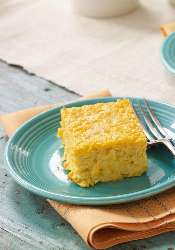Pastel de elote dulce- Uno de los ingredientes más ricos de nuestra cocina, en una súper presentación. Comprueba como el sabor de este pastel de elote dulce, encantará a todos.