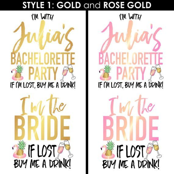 Cabo Bachelorette Party Temporary Tattoos | Cabo San Lucas, gold tattoo, bridesm…