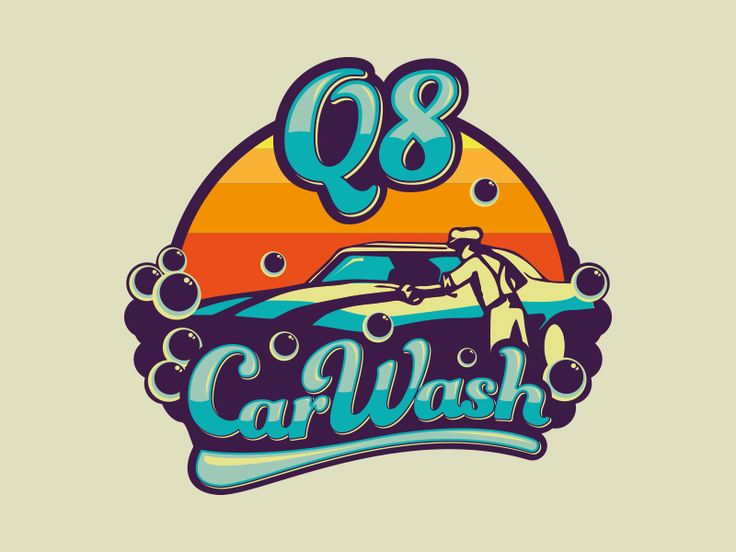 Car Wash Logo Option by Juanjo Marnetti