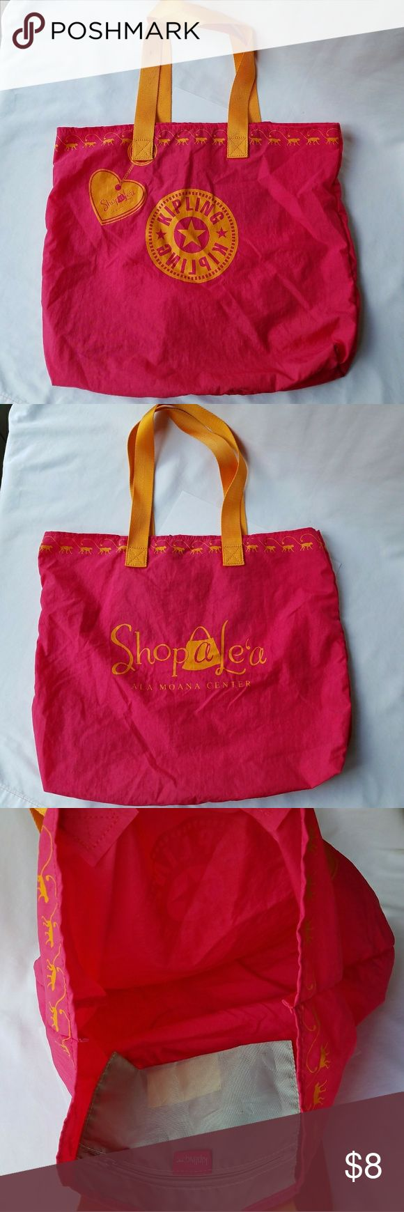 Kipling Nylon Tote Bag 100% Authentic  Item has been used/Normal Wear  Comes as seen in pictures   *Serious Buyers Only  **Check Out All the other items i have for sale Kipling Bags Totes