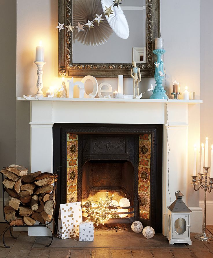 Fireplace Design fireplace lights : 21 best Fireplace images on Pinterest