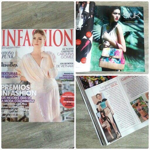 Siuk en la editorial de moda más importante del país: INFASHION