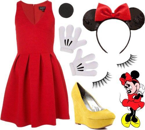 Vuelve a la infancia con este #disfraz de Minnie Mouse | Hazlo tú #DIY