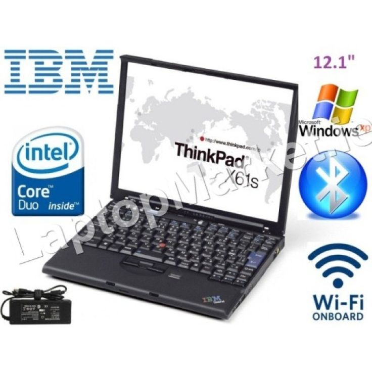 IBM X61 X61s Wifi XP Laptop Suites Car Diagnostic Dual Core 1Gb