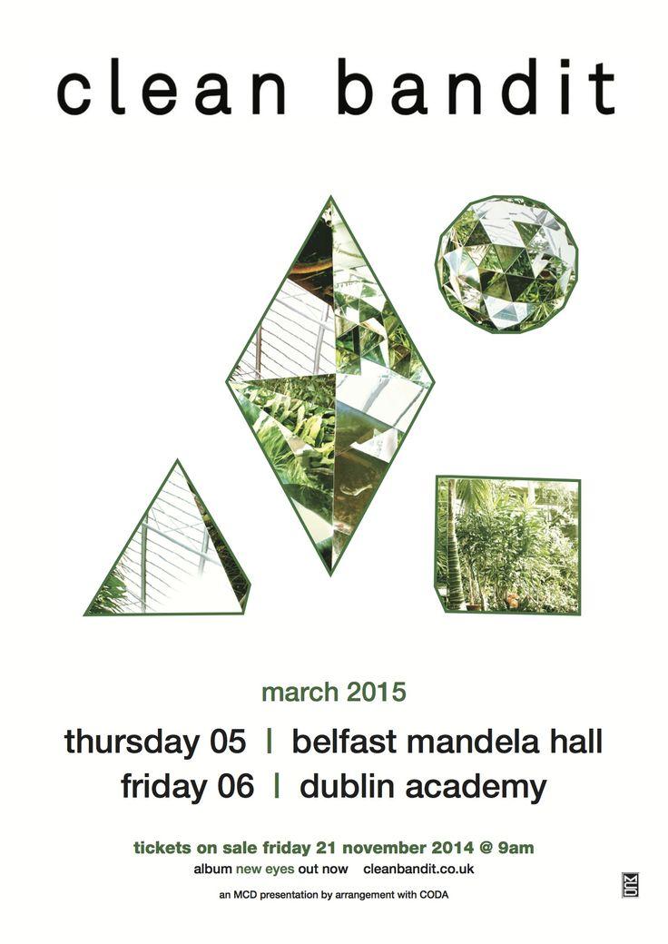 Mandela Hall, Belfast on Thursday 5 March The Academy, Dublin on Friday 6 March