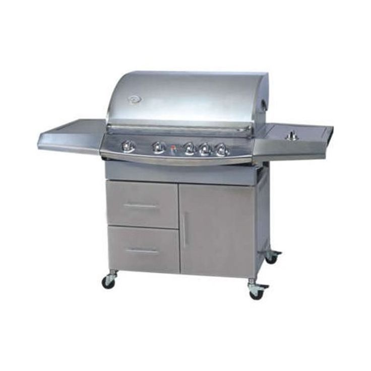 Barbecue a gas grill grigliata legna carbone RS0168 - Store4Restaurant