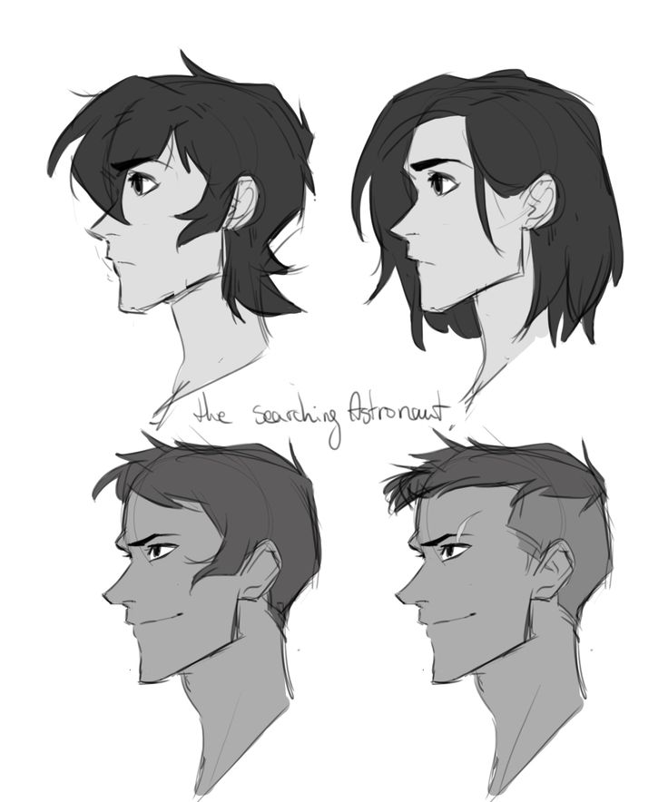 I wanted to draw alternate versions/ older versions of these boys. I also use long haired keith for one of my collaborations ;)