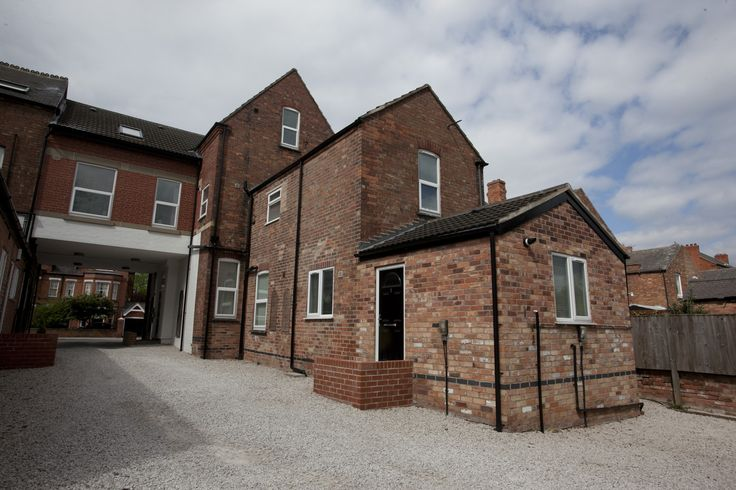 Exterior view of your beautiful serviced apartment in West Bridgford