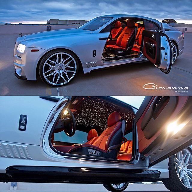 "giovannawheels#starrynight @creativebespoke Rolls Royce Wraith 24"" Giovanna Bogota Wheels #giovanna #giovannawheels #wald #rollsroyce #rollsroycewraith #wraith #bogota #rolls #royce #luxury #luxurycars #stance #boss"