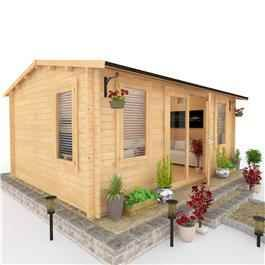 Log Cabin – This wonderfully crafted log cabin further demonstrates Garden Buildings Direct's growing standing as a leading manufacturer of log cabins. The BillyOh Dorset Log Cabin is a compact yet stylish Log Cabin for those whom would like to indulge in a bit of luxury within the confines of their garden and have limited space.