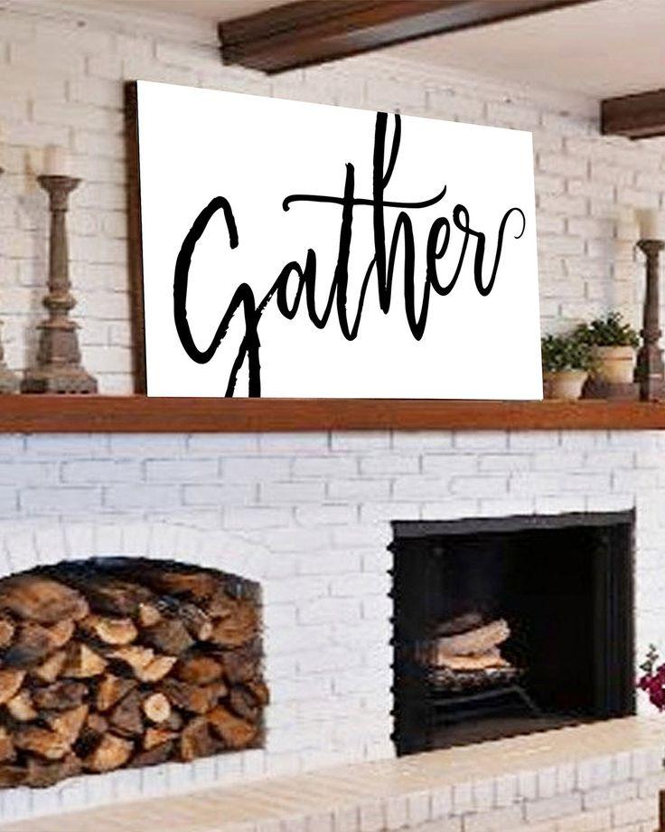 Wall Decor Modern Farmhouse: Best 20+ Farmhouse Wall Decor Ideas On Pinterest