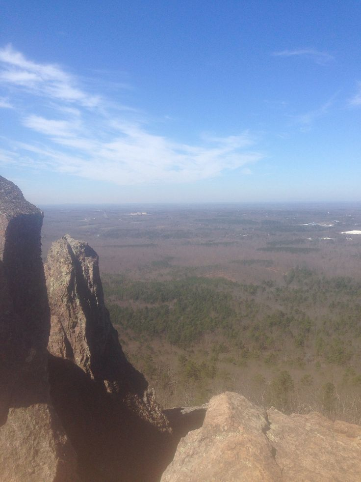 Crowders Mountain, Pinnacle Trail Head  Gastonia, North Carolina