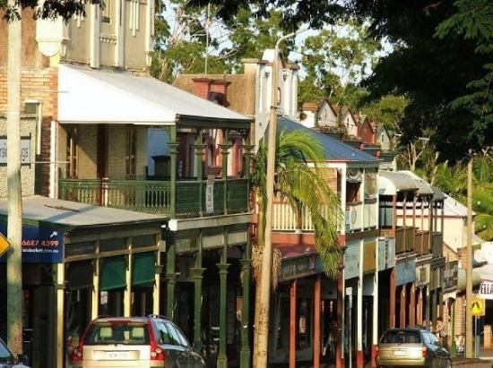 Im so lucky to work in the world's most adorable village street :) - Bangalow, NSW
