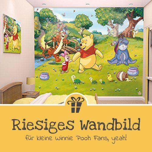 Walltastic 42100 Disney, Winnie Pooh, Tapete, Wandbild, Paper, bunt, 52,5 x 7 x 18,5 cm - Geschenkideen für Kinder | Geschenke für Jungs oder Mädchen (*Partner-Link)