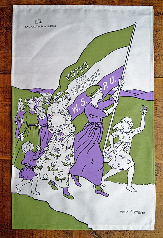 Women\'s March tea towel
