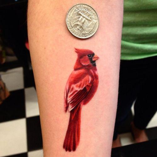 Best 25 cardinal tattoos ideas on pinterest red bird for Small cardinal tattoo