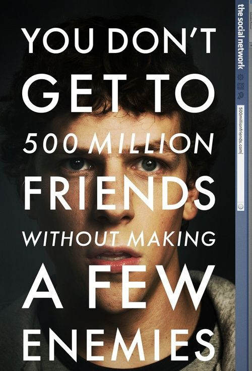 The Social Network, Movie Poster