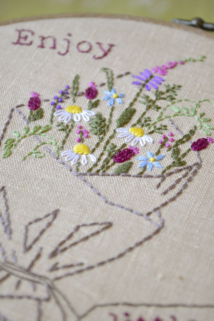 how to make embroidery on clothes