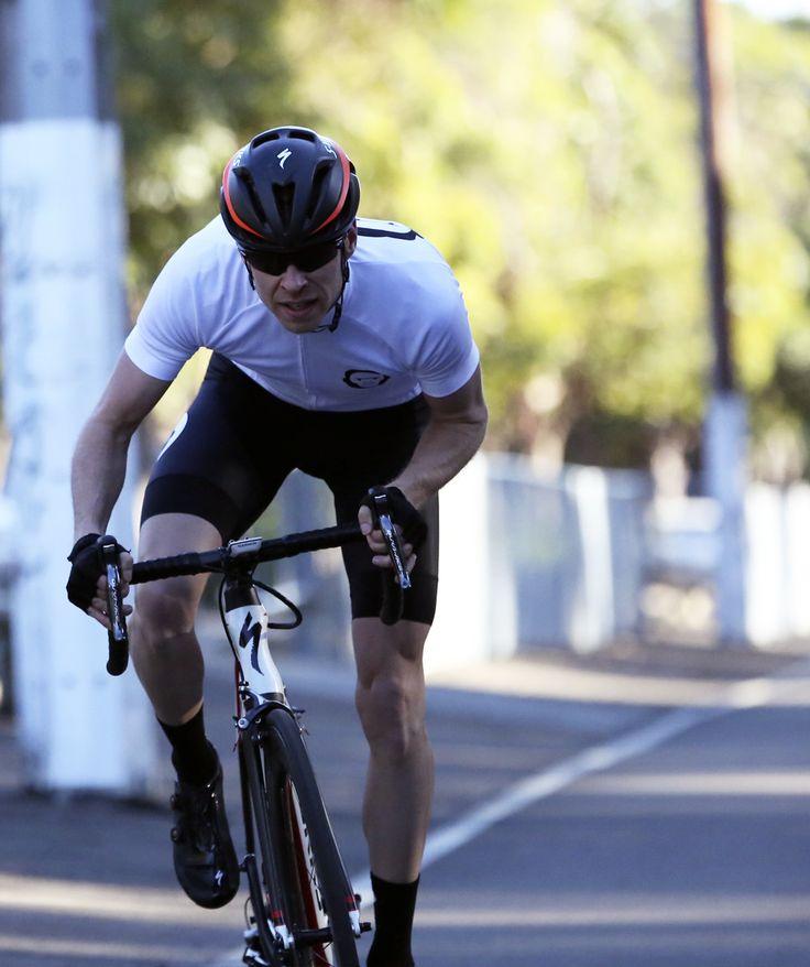 Australian Two Monkeys Cycling team ride jersey in white. Available online. Ships worldwide