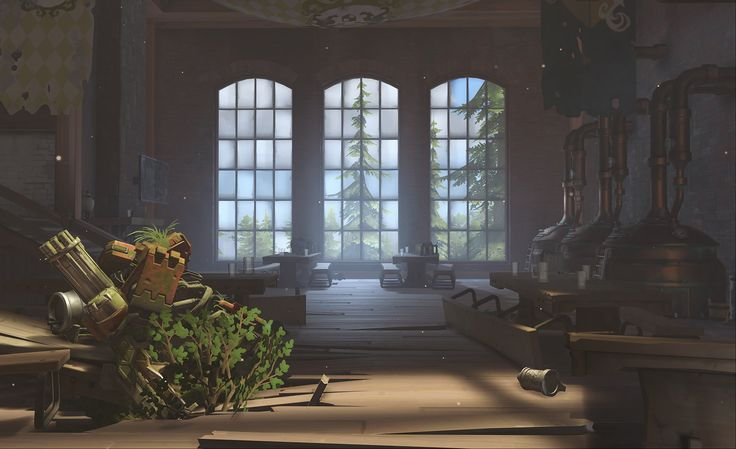 """Blizzard Entertainment revealed the newest Overwatch map based in Germany — Eichenwalde — which is coming this September to live realms. A small town in the forest with a majestic castle. This is the forest where Bastion comes from. """"Eichenwalde is an Assault/Escort hybrid map set in an abandoned village on the outskirts of Stuttgart, …"""